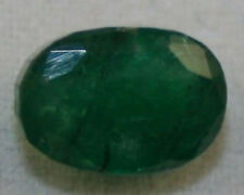 NATURAL LOOSE EMERALD GEM 6X8 OVAL 1.75CT FACETED NATIVE CUT A GEMSTONE EM7