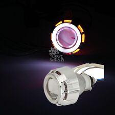 White Halo Angel Red Demon Eye Headlight For Kawasaki Ninja 650R EX650R/ZX636