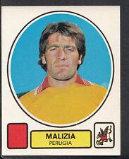 PANINI CALCIATORI FOOTBALL Adesivo 1977-78, N. 227, PERUGIA-MALIZIA