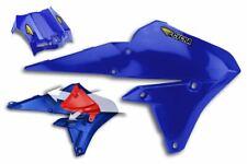 Cycra Powerflow Radiator Shrouds Yamaha 14-16 YZ250F 14-16 YZ450F Blue