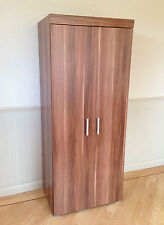 2 Door Double Wardrobe in Walnut Effect Bedroom Furniture * NEW * Set available