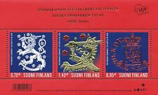 Finland 2006 MNH - Finnish Stamps 150 years - Lion - Coat of Arms - Gold Foil