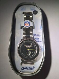 Baltimore Ravens NFL FANTASMA Stainless Steel Watch NEW in TIN