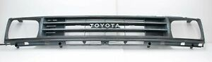 87-88 Toyota Pickup Truck OEM Grill 1pc Grey Plastic Grille 2WD RWD 53111 Hilux