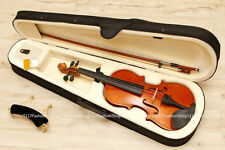 BRAND NEW only 4/4 brown violin / fiddle with nice CASE & BOW