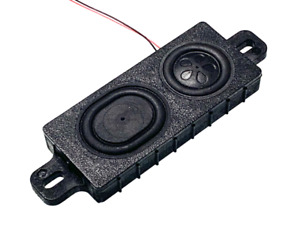 Powerful EM1 Speaker For DCC Sound, 4 Ohm,  For Loksound 4 / 5 And  Zimo Decoder