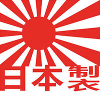 Top Red JAPAN MADE Japanese Car Decal Window Truck Auto Bumper  Laptop Sticker