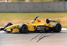 Ralph Firman SIGNED 12x8  F1 Jordan-Ford EJ13  Spanish GP Barcelona  2003