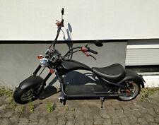 Mangosteen E-Chopper / E-Roller, schwarz / rot, max. 45 km/h