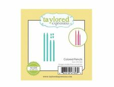 Taylored Expressions Little Bits Die(s) Set ~ COLORED PENCILS  - Art  ~TE1064