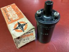 1953 - 67 CADILLAC CORVETTE BUICK OLDSMOBILE 12V IGNITION COIL AUTOLITE 5-13 NOS
