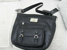 tommy and kate limited edition black leather bag new sharn bag