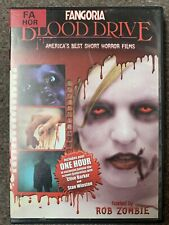 Fangoria Blood Drive Horror Buy 9 DVDs For £3.50 Postage UK