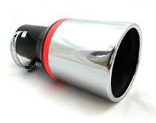 Universal Cromada De Escape final Mofle Pipa Punta Trim Cola Fit 35-50mm