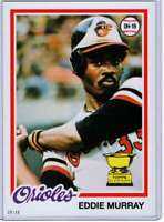 Eddie Murray 2017 Topps Update All Rookie Cup 5x7 #ARC-3 /49 Orioles