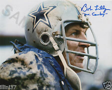 BOB LILLY DALLAS COWBOYS HOF SIGNED 8X10 AUTOGRAPHED PHOTO PICTURE RP