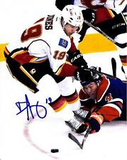 DAVID JONES CALGARY FLAMES SIGNED AUTOGRAPH 8X10 PHOTO PICTURE HOCKEY NHL