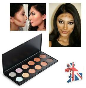12 Colours Cream Concealer Contour Palette Corrector Highlighter Makeup