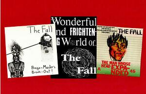 FALL. 3 STICKER SET. MARK E. SMITH. Post Punk, Punk.