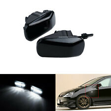 2x Led Side Marker Indicator Light White For Jdm Honda Civic Jazz Fit 2002 16 Fits Rsx