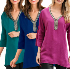 480923e9638 Beaded Tunic Tops & Shirts for Women for sale | eBay