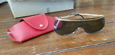 Vintage Retro Sierra 150 Sunglasses Black Frame and Lenses