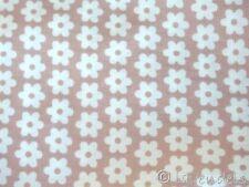 Stoff Baumwolle  Ökotex ♥ Blumen nude rosa Blümchen Patchwork Baumwollstoff