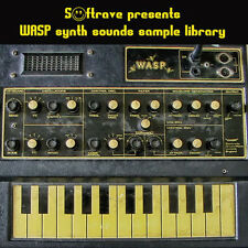 Wasp synth sample library - vintage analog synth samples of  EDP Wasp