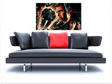 "Blade Runner sin bordes de azulejo mosaico Pared Poster 35 ""X 25"" Harrison Ford"