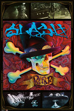 "SLASH POSTER ""SKULL COLOUR"" LICENSED ""BRAND NEW"" GUNS N ROSES"