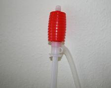 Weinheber Abfüllschlauch mit roter Handpumpe NEU!!