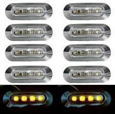 10x LED orange Seitliche Begrenzungsleuchte 24V für LKW Bus LKW Volvo DAF IVECO