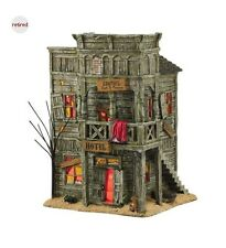 Department 56 Snow Village Halloween Last Chance Hotel 4044880 Retired 2015