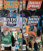 DC COMICS - JUSTICE LEAGUE AMERICA / JUSTICE LEAGUE EUROPE- BREAKDOWNS STORYLINE