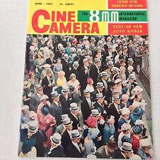 Cine Camera 8mm Magazine Kodak Automatic 8 June 1962 061517nonrh