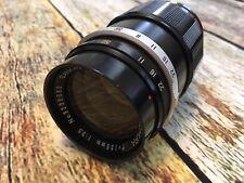 VINTAGE Sankyo Kohki KOMURA 135mm F3.5 Screw Mount Lens CLEAN! *READ