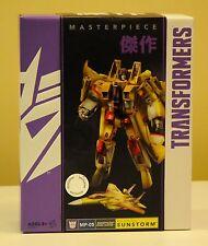 Transformers Masterpiece MP-05 Sunstorm New MIB Hasbro Generations