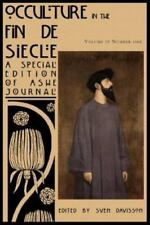 Occulture in the Fin de Siecle (Ashe Journal 4.1) (Paperback or Softback)