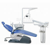 Dental Computer Controlled Unit Chair hard leather TJ2688-A1 with stool FDA CE
