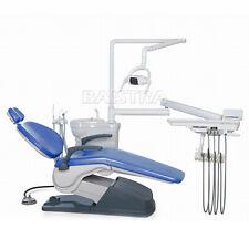 Dental Computer Controlled Unit Chair hard leather TJ2688-A1 with stool UK