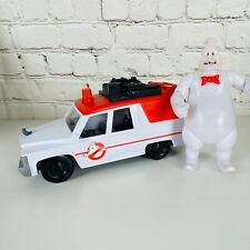 """Ghostbusters Ecto-1 2016 Mattel Vehicle Car 9"""" and Rowan Ghost Figure"""