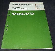 Werkstatthandbuch Volvo 340 Motor D16 / D 16 ab 1984