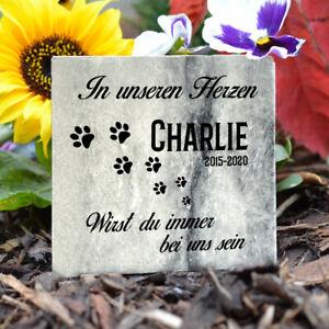 Personalisiert Tiergrabstein Grabstein Gedenktafel Marmor Stein Gedenkplatte
