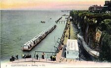 Cliftonville. Bathing # 7 by LL / Levy. Coloured.