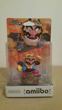 WARIO No 32 Super Smash Bros. Nintendo amiibo Mint On Card New Check It Out