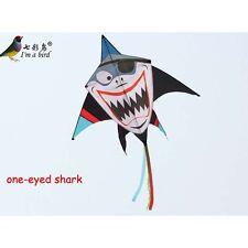 NEW 1.6m Pirate Shark Kite one-eyed single line Delta kites surfing