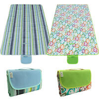 Large Picnic Blanket Family Waterproof Camping Rug Folding Travel Beach Mat XL