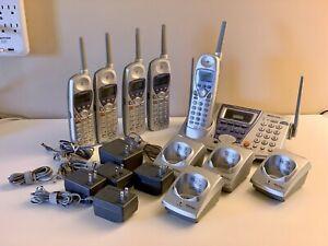 Panasonic KX-TG2730 2.4 GHz Cordless Phone/Answering System - 6 handsets