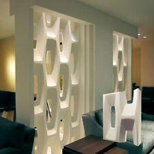 *BIT* Set of 2pcs 3D Decorative Wall Block Panels.ABS Plastic mold for Plaster