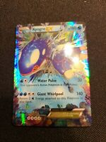 Kyogre-EX - 54/160 - Ultra Rare Pokemon NM Pokemon XY Primal Clash